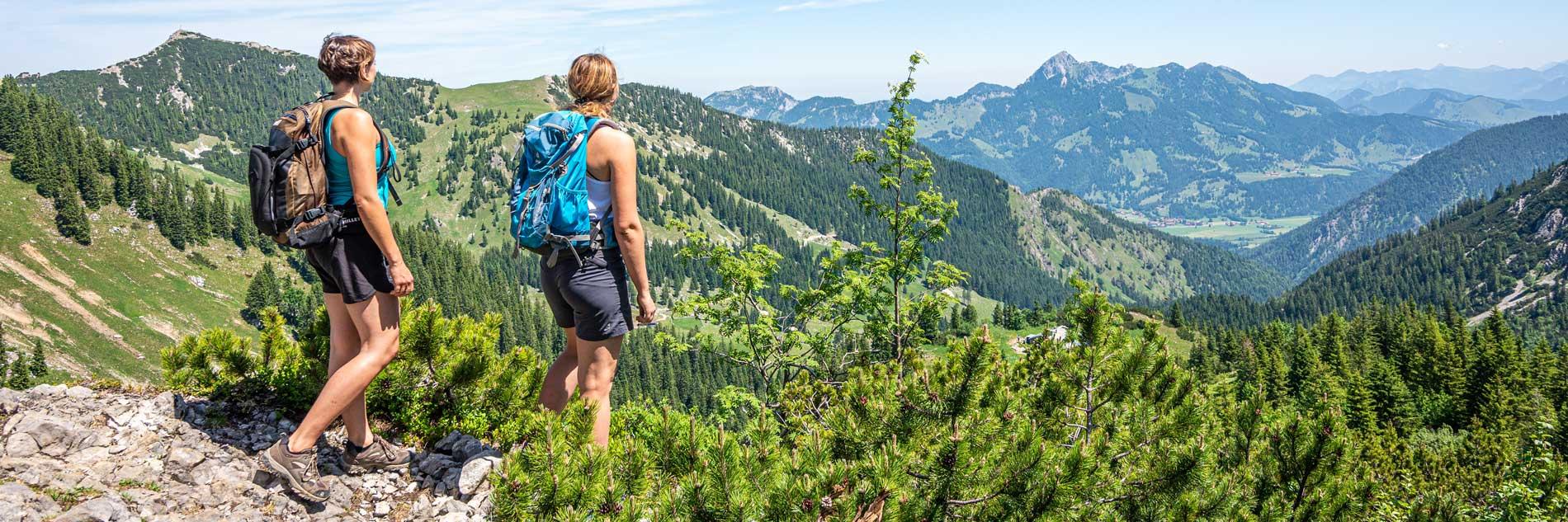 Seeheimat Aktivitäten Sommer Wanden am Taubenstein